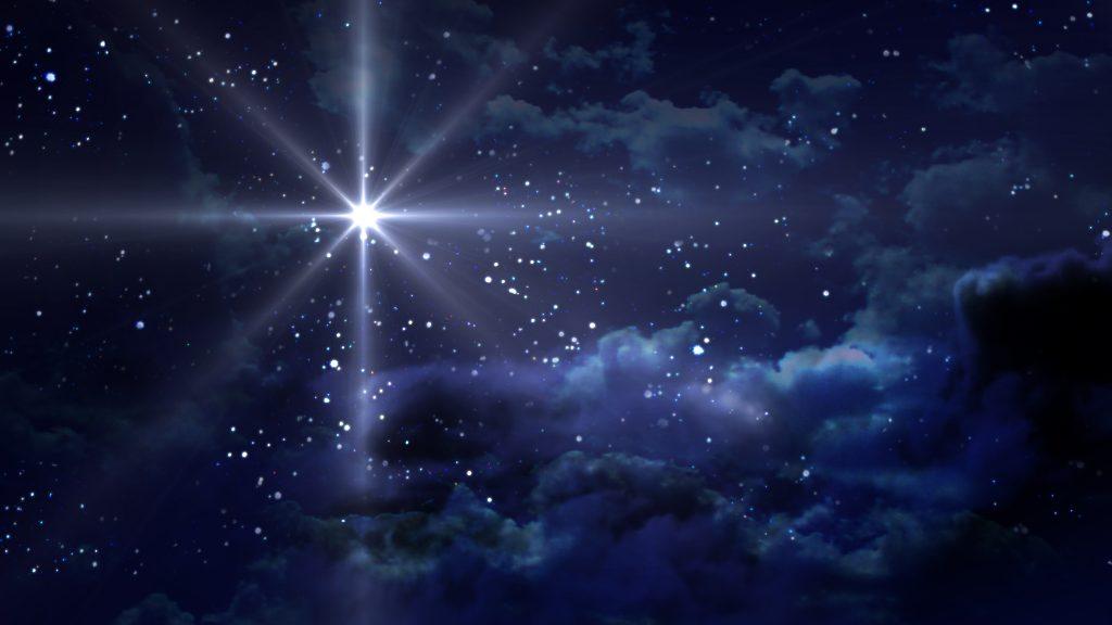 Starry Night blue