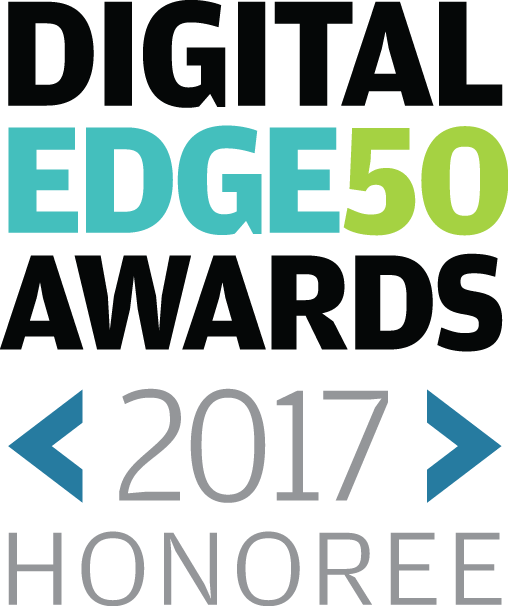 Digital Edge 50 Award graphic