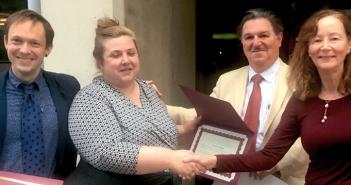 Kristen Treglia receives recognition