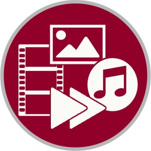 Multimedia icon to access streaming media