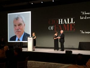 CIO Hall of Fame Award ceremony