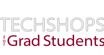 TechShop for grad students word mark