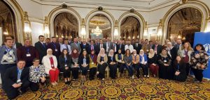 IDEL team and Jordanian educators; group photo